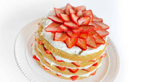strawberries and cream cake with cream cheese frosting youtube
