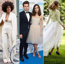 Non Traditional Wedding Dresses Celebrity Wedding Dresses Non Traditional And Unusual Bridal