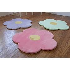 Pink Rug Nursery Amazon Com Flower Area Rug For Kids Girls Room Girls Area Rugs