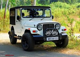modified open thar the sherpa my mahindra thar crde 4x4 team bhp
