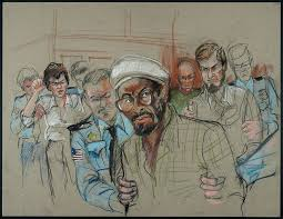 10 rare courtroom sketches from most infamous trials where no