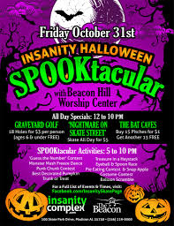 List Of Halloween Monsters by Insanity Halloween Spooktacular Oct 31 Insanity Complex