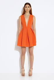 aq aq dresses aq aq vicious plunge mini dress mandarin