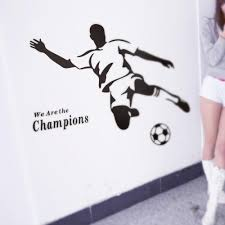 aliexpress com buy champions football living room sofa aliexpress com buy champions football living room sofa waterproof pvc diy mural decal wall sticker wholesale from reliable wall sticker suppliers on super