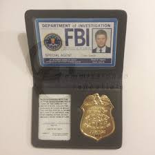 fbi wallet commissioned credentials
