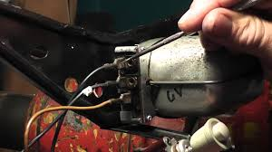 1963 vw bug wiper motor and switch terminations u0026 test youtube