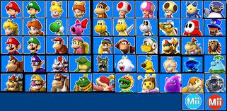 image mario kart 8 selection screen png fantendo nintendo