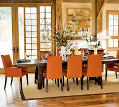 captivating orange dining room chairs with cool orange dining room