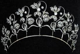 tiara collection fabergé cyclamen tiara westminster collection theme week