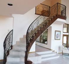 stair railings iron luxury home design by larizza