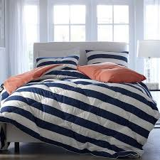 red blue and white striped bedding amazing blue and white