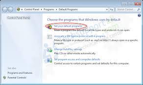 membuat xp auto start di windows 7 how to set default programs in windows xp vista 7 8