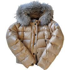 K Hen Kaufen Online Mode Moncler Frauen Mäntel Gold Guter Verkauf Moncler Jacke Sale
