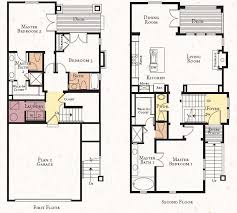floor plan designs 2 storey modern house designs and floor plans vintage modern house