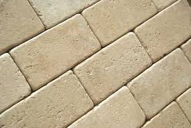 ivory light travertine 3 x 6 subway field tile tumbled marble