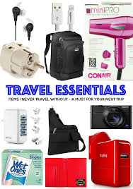 Travel essentials 16 must have items for your next trip plain