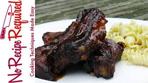 oven baked u0026 grilled country pork ribs noreciperequired com