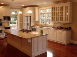 Glass Designs For Kitchen Cabinets White Kitchen Cabinets With Black Countertops Four Wooden Dining