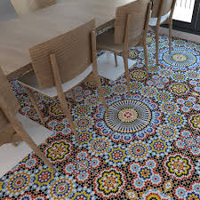 Retro Flooring by Tile Stickers