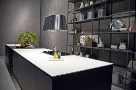 kitchen design in black and white using ceramic worktops kitchen design in black and white using ceramic worktops