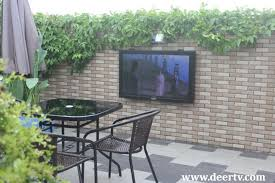 Build Outdoor Tv Cabinet How To Fix The Outdoor Tv Enclosure Issues Deertv