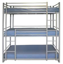 Bunk Beds  Twin Bunk Beds White Metal Bunk Beds Heavy Duty Bunk - Metal bunk bed futon combo