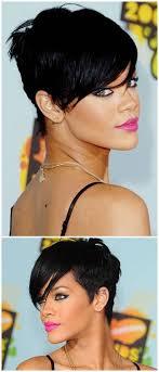 Kurzhaarfrisuren Nachmachen by Die Besten 25 Kurzhaarschnitt Rihanna Ideen Auf