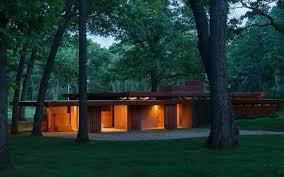 Modern Frank Lloyd Wright Style Homes Dc Hillier U0027s Mcm Daily The Melvin U0026 Sara Smith House