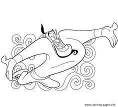 genie magic lamp disney coloring pagese4d4 coloring