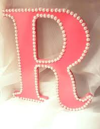 Decorative Wall Letters Nursery Decorative Wall Letters Nursery Letter Decor Wooden Letter R For