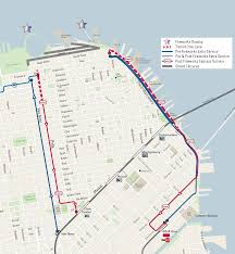 Bart Line Map by Getting Home On 4th Of July Muni Bart Caltrain Schedules 2017