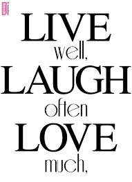 schwarz weiß sprüche wall sticker live well laugh often much beiwanda co uk
