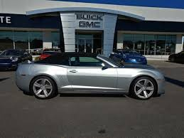 2013 chevrolet camaro convertible for sale used 2013 chevrolet camaro convertible zl1 silver metallic for