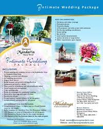 Wedding Packages Weddings Boracay Luxury Official Site Of Boracay Mandarin