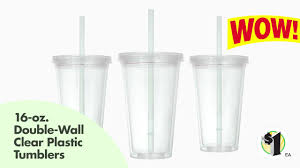 light up display stand dollar tree dollar tree inc 16 oz double wall clear plastic tumblers