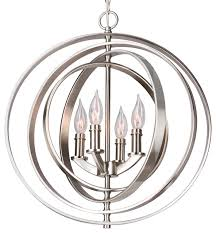Transitional Chandeliers Revel Orbits Orb Chandelier Transitional Chandeliers By