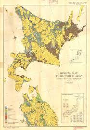 Map Types General Map Of Soil Types In Japan Map I Esdac European
