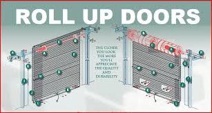 Shed Overhead Door Roll Up Doors Garage Overhead Shed And Barn Door Sales