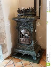 antique woodburning stove stock photo image 46410334