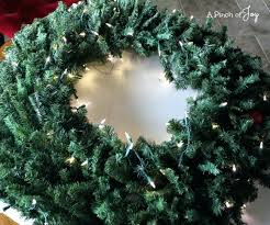large lighted wreath large wreaths lighted uk sumoglove