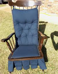 Gliding Rocking Chair Antique Platform Glider Rocking Chair Downtown Oklahoma City