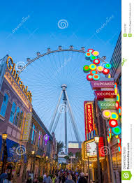 The Linq Las Vegas Map by The Linq Las Vegas Editorial Photography Image 51901182