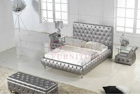 German Modern Furniture by Modern White Bed With Crystals German Beds Made In China Buy