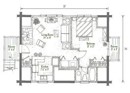 Log House Floor Plans Studio Garage Log Homes Floor Plan