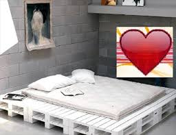 Bed Frame Made From Pallets Diy Your Own Pallet Patio Furniture Wooden Pallet Beds