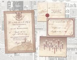 harry potter wedding invitations harry potter wedding invitations awkward affections