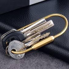 classic key rings images Handmade oval shape brass keychain classic key ring key chain edc jpg
