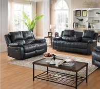 Sofa And Loveseats Sets Palermo Brown 2 Pcs Espresso Leather Recliner Sofa And Loveseat