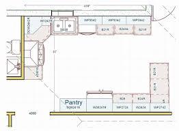 kitchen floor plans island kitchen floor plans with island new u shaped kitchen plans with