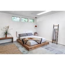 Storage Platform Bed Mckenzie Storage Platform Bed Full Size And Beds Interalle Com